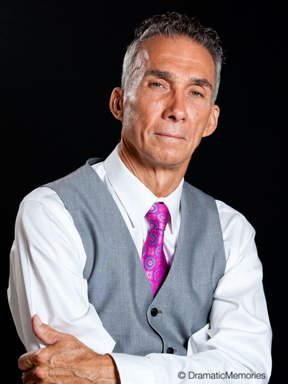 middle aged actor as a business executive